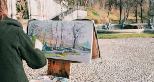 painter-woman